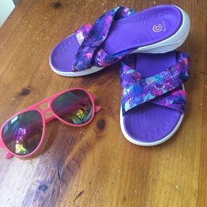 Girls Slip on Sandals